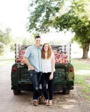Stephen and Jessica Rose, owners of The Peach Truck and authors of The Peach Truck Cookbook
