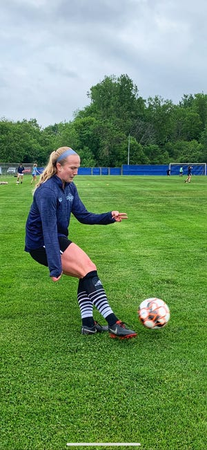 Lansing United defender Zoe Morse, who has represented the U.S. at multiple youth age levels, is in her first season with the club.