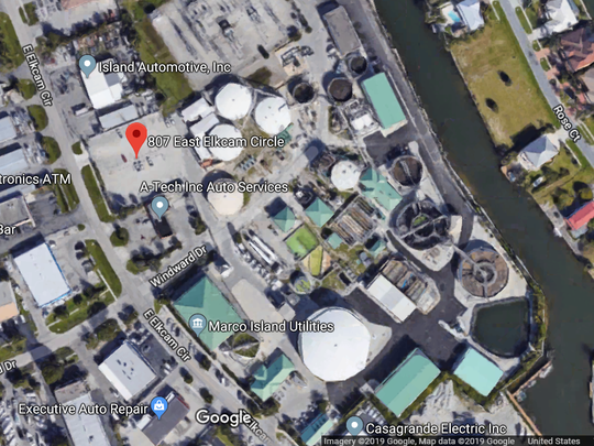 The North Water Treatment Plant is located at 807 E. Elkcam Circle in Marco Island.