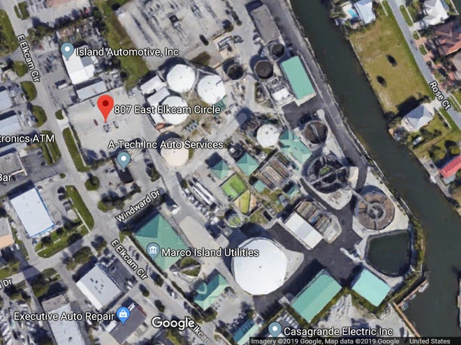 The North Water Treatment Plant is located at 807 E. Elkcam Circle inMarco Island.