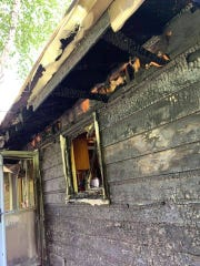 A home along the 5600 block of Frances Court caught fire June 7 with a sleeping resident inside, who escaped safely. The cause of the fire is still under investigation.