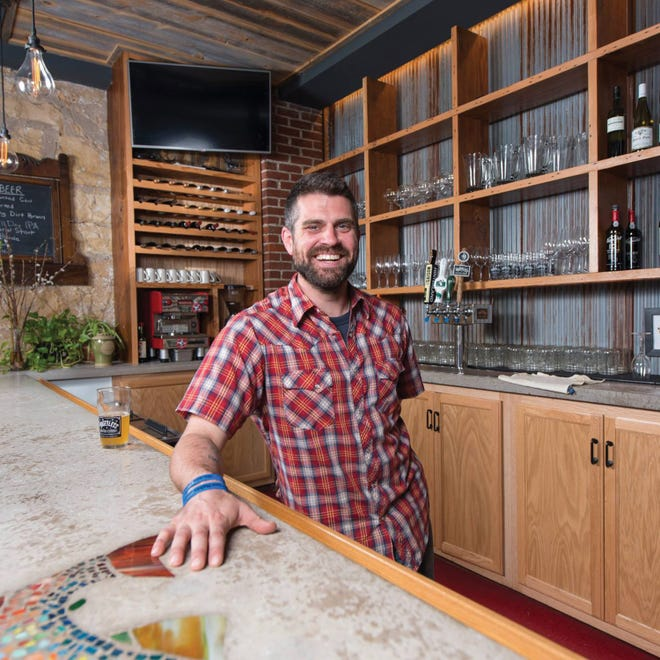 """Luke Zahm, chef and co-owner of Driftless Cafe in Viroqua, will be the new host of the TV show """"Wisconsin Foodie."""""""