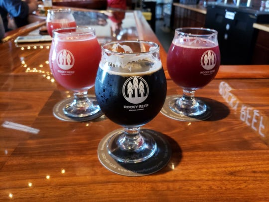 Rocky Reef Brewing Co. in Woodruff serves a variety of beers, from fruit sours to rich stouts.