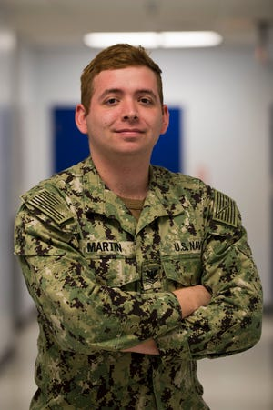 Petty Officer 2nd Class Jonathan Martin hails from Mountain Home and is a 2012 graduate of MHHS.