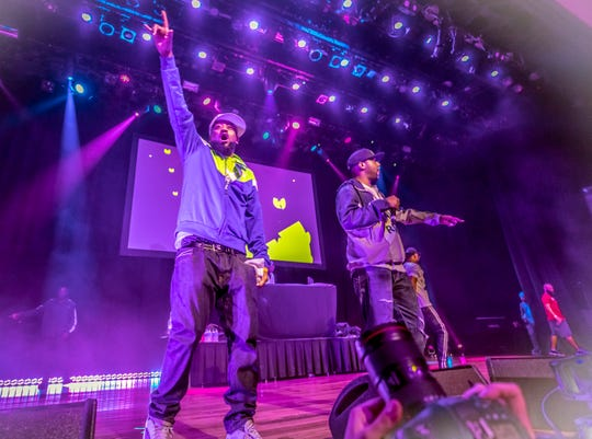 Wu-Tang Clan performs at the Ryman Auditorium in Nashville, Tennessee, on Sunday, June 9, 2019.