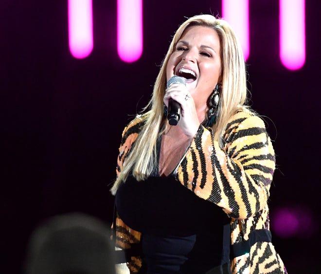 Trisha Yearwood performs during the 2019 CMA Fest Sunday, June 9, 2019, at Nissan Stadium in Nashville, Tenn.