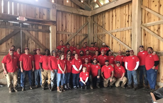 100 percent of RGF employees participated in the fifth annual Good Friday Service Project. RGF donated and installed 830 feet of chain link fence to Old School Farm to protect their crops from wildlife.