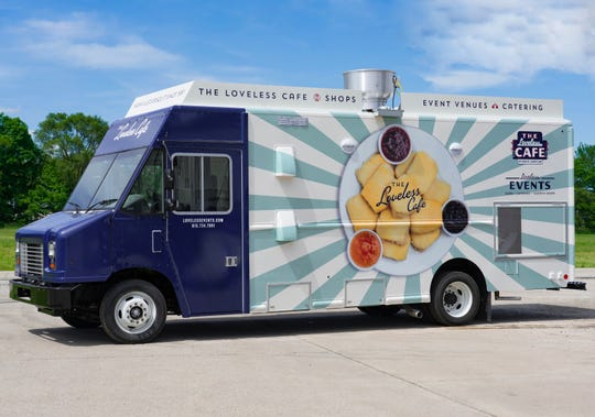 The iconic Loveless Cafe will debut its food truck June 27.