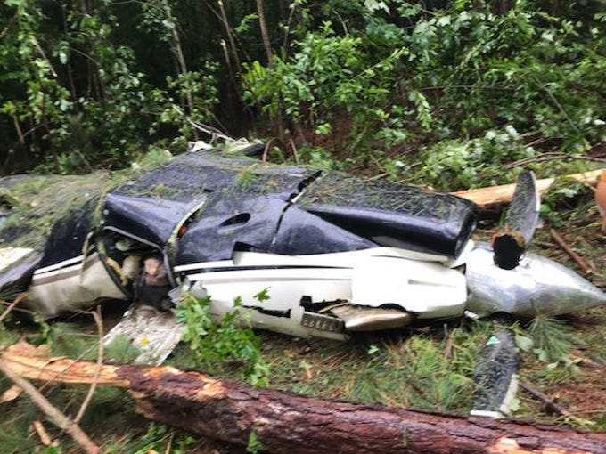 Four Naples residents died Friday when the single-engine Piper aircraft they were traveling in crashed in a North Carolina forest.