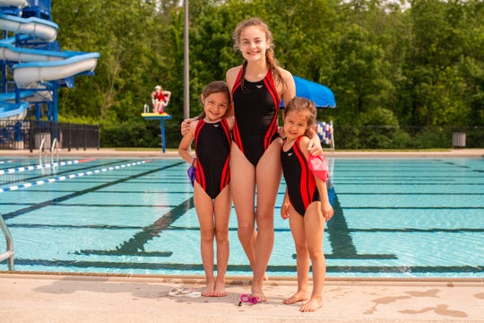 Saturday's season-opening meet between the Stingrays and Pataskala Porpoises at the Heath City Water Park included the debut of the newest Raypups.
