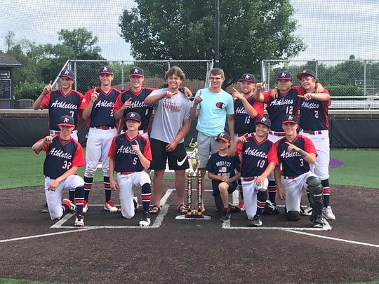 The 16U Athletics finished 6-0 this weekend to win the 330 Showcase in Akron.