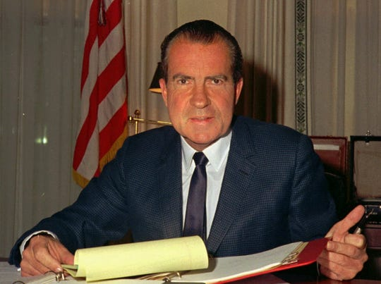 "Recalling President Richard Nixon's ""Impeachment Summer."""