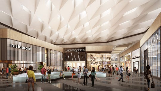 A rendering provided by the Shops at Riverside in Hackensack. The mall is currently undergoing the third and final phase of a multi-year transformation.