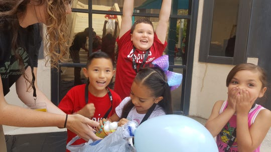 Students attended the Inspired by Science Camp at New Mexico State University Carlsbad.