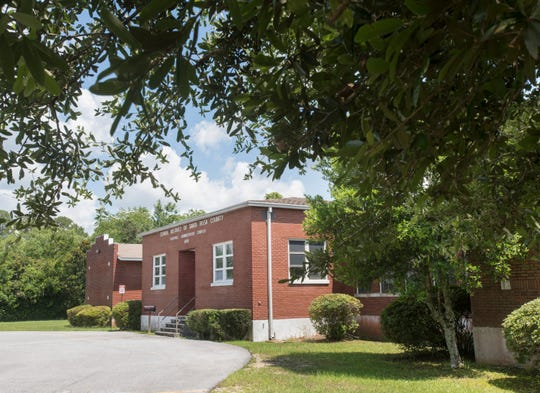 The former Berryhill Elementary School building is up for sale.