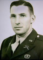 Photo of James Nunn, a commanding officer of the 507th Paratrooper Infantry Regiment who parachuted into Normandy on D-Day.