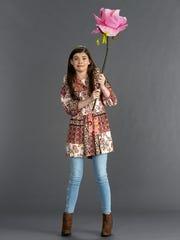 """Kate Godfrey from Scottsdale, Arizona stars in Nickelodeon's """"All That."""""""