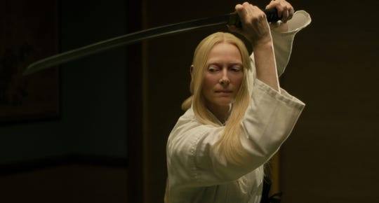 "Tilda Swinton stars in ""The Dead Don't Die."""