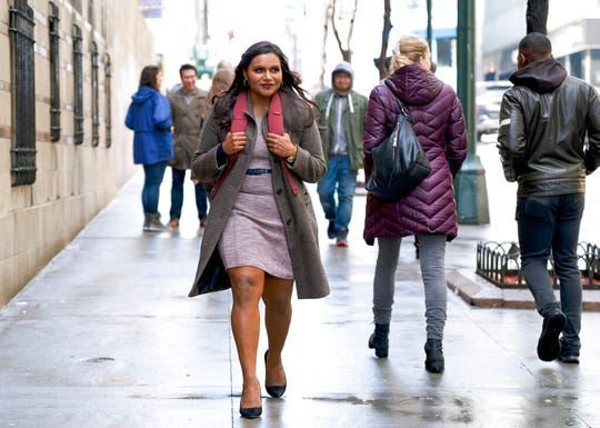 "Mindy Kaling stars in ""Late Night."" The movie opens Thursday at Regal West Manchester."