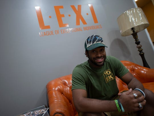 LaQuinn Thompson, 25, founded the B.E.A.S.T Initiative Push as a means to connect youth through video games. Currently, Thompson is holding game nights and tournaments inside the LEXI Social Club in downtown York.