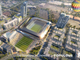 Renderings of a stadium that may one day be home to a Major League Soccer franchise.