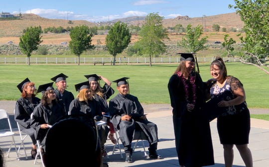 Eight students graduated Friday, June 7 from the Redfield Academy.