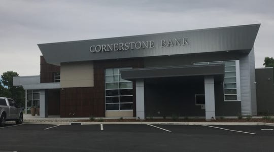 Cornerstone Bank has opened its new branch in the Cobblestone Shopping Center on Hartnell Avenue in Redding.