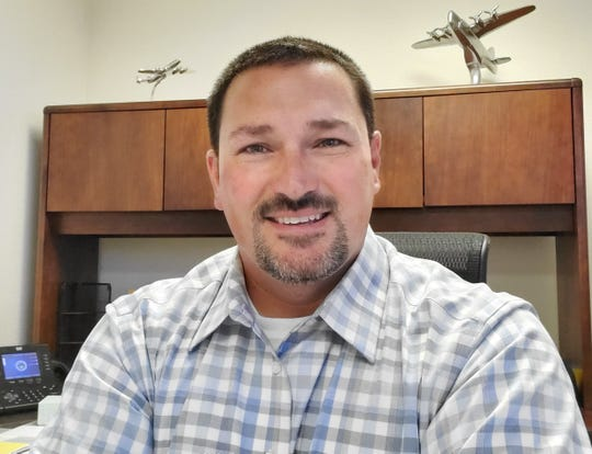 Jim Wadleigh is Redding's new airports manager.