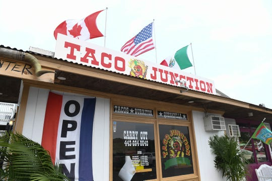 Taco Junction, located at 9935 Stephen Decatur Hwy in West Ocean City.