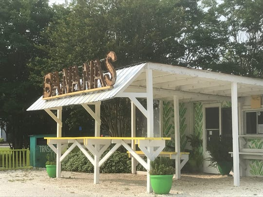 The Banana Hammock on Chincoteague, VIrginia is a new eatery located at the former site of Pico Taqueria.