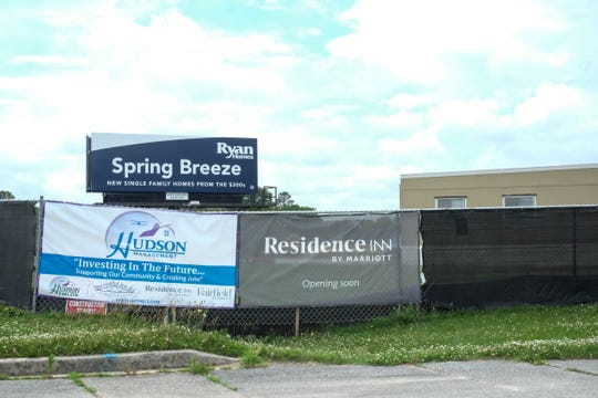 The Residence Inn by Marriott, located on John J. Williams Highway in  unincorporated Rehoboth Beach, is one of nearly a dozen hotels being planned for southern Delaware.