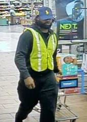 The Bossier Parish Sheriff's Office is searching for a vehicle burglary suspect who reportedly used stolen credit cards.
