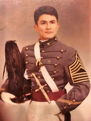 John Snider at West Point, a U.S. Military Academy