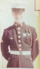This is William Maxheimer, a combat veteran who served with the 5th Marines in Vietnam. Maxheimer died due to injuries he suffered in a May 30 motorcycle accident. He was 76.