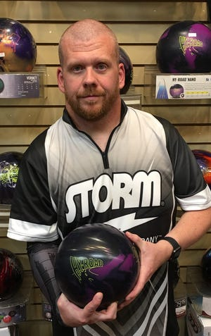 Rob Hartman, a U.S. Army veteran living in Mesquite, rolled his first 300 game last week.