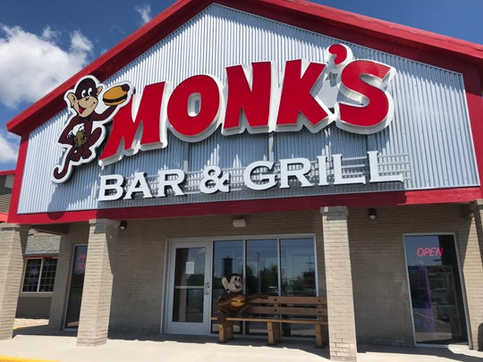 Monk's Bar & Grill, 1400 Commerce Place in Plover