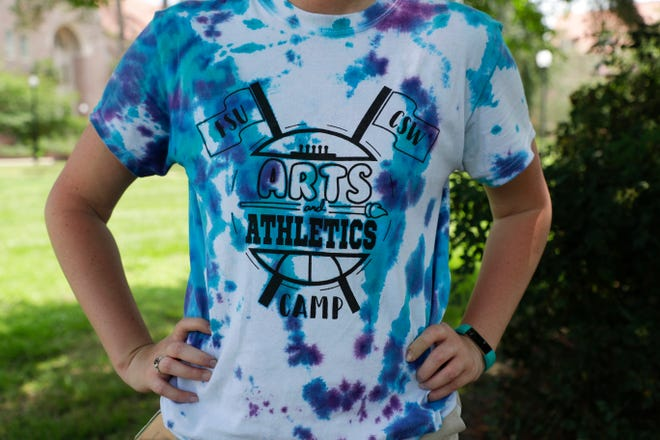 The tie-dyed T-shirt for the Florida State University College of Social Work's Arts and Athletics Camp held June 10, 2019. Send information about your camp in by March 1 for The Tallahassee Democrat's special Summer Camps section for 2021.