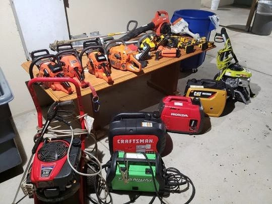 A utility trailer full of power tools was recovered during a week-long local, state and federal effort by law enforcement.