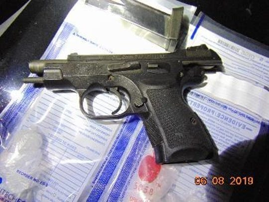 Two guns were seized in a week-long law enforcement operation targeting gun violence.