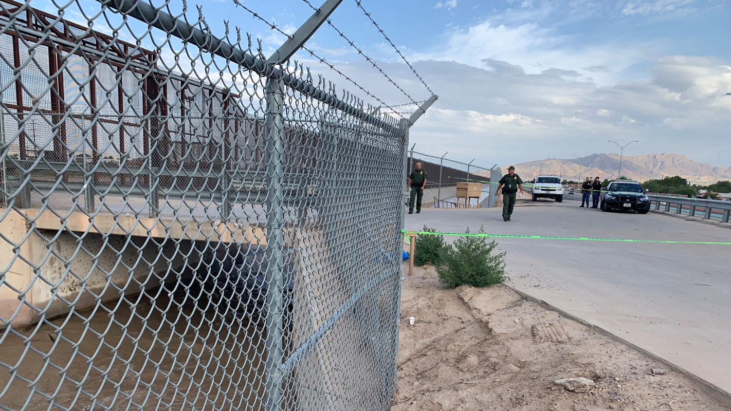 Body of possible Chinese migrant found in border canal in El Paso's Lower Valley