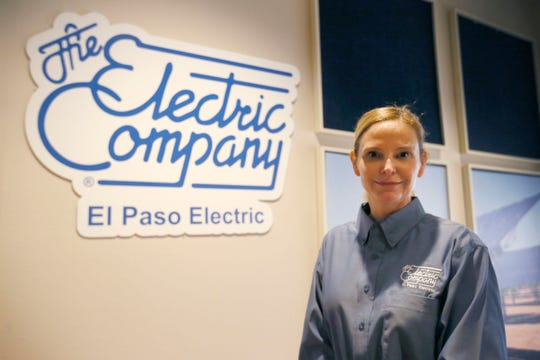 El Paso Electric CEO Mary Kipp speaks to employees after the announcement the company was to be sold to J.P. Morgan's Infrastructure Investments Fund Monday, June 3, 2019, at the El Paso Electric Co. in Downtown El Paso.