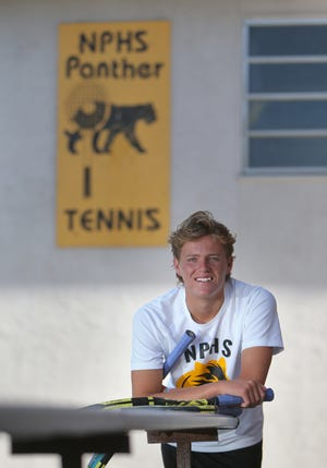 Wally Thayne won a second straight Marmonte League singles title, reached the final of The Ojai and advanced to the round of 16 at the CIF Individuals in his final year at Newbury Park High.