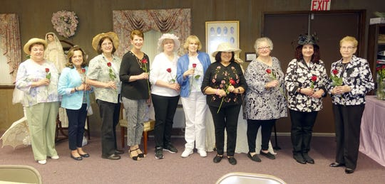 (From left) Norene Ritter, Mina Gruccio, Sue Medio, Carol Bassetti, Doris Schalick, Ann Starkey, Linda Gallina, Judy Fagotti, Eva Prestopino and Joyce Prochaska are the Woman's Club of Vineland's board members for 2019-2020.