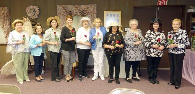 (From left) Norene Ritter, Mina Gruccio, Sue Medio, Carol Bassetti, Doris Schalick, Ann Starkey,Linda Gallina,Judy Fagotti, Eva Prestopino and Joyce Prochaska are the Woman's Club of Vineland's board members for 2019-2020.