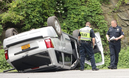 One person was injured in a crash on Route 172 in Bedford on June 10, 2019.