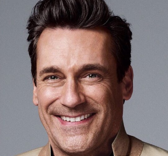 Actor Jon Hamm, a member of the Red Trunk Project's board of directors.