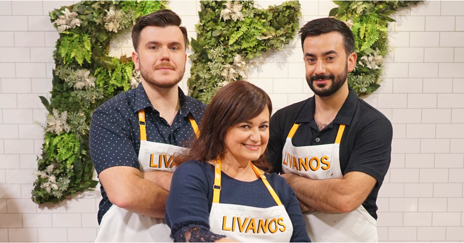 livanos family of armonk competes in abc u0026 39 s  u0026 39 family food fight u0026 39