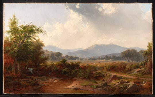 "'Short Mountain"" by Robert Duncanson dates 1853 and is now at the Winterthur Museum of American Culture."