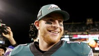 Carson Wentz spoke Monday on his contract extension and what it means for the Eagles.