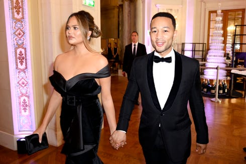 Chrissy Teigen got asked if she was pregnant on social media.